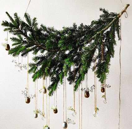 Christmas Branch Decoration Ideas.Easy Christmas Tree Ideas For Your Home Bardale Village
