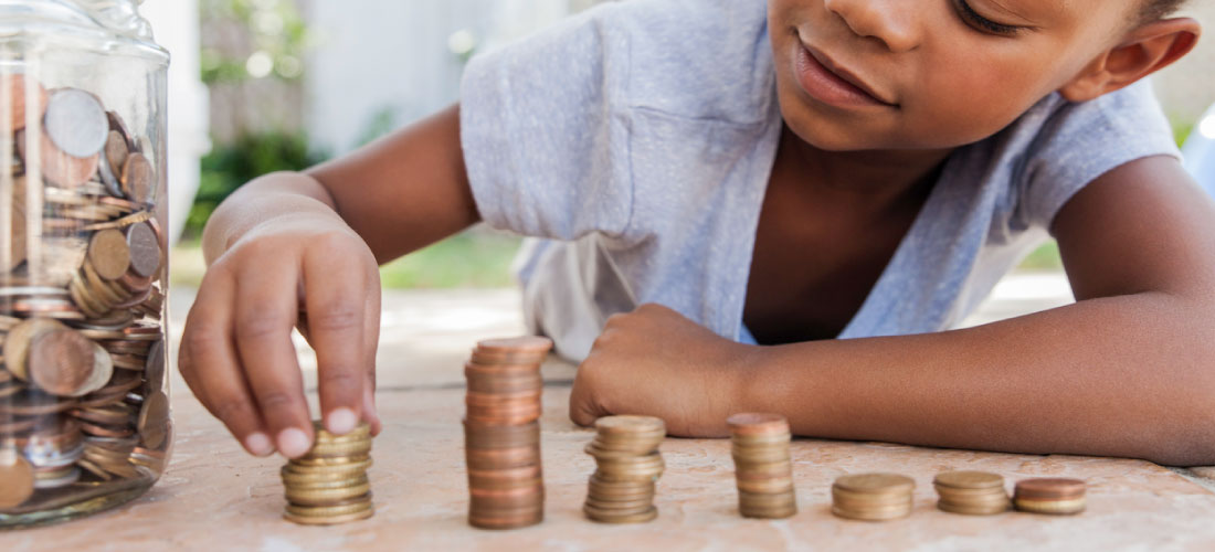 counting cents to save for a home deposit
